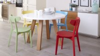 Colourful Kitchen Chairs | Bright Painted Wood Only 45 | UK