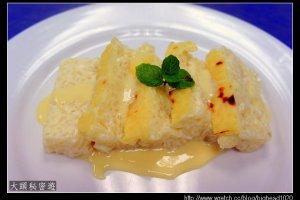 [西餐]點心類 英式米布丁附香草醬