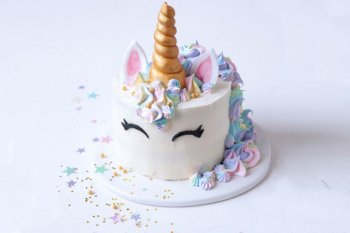 Cute Cupcake Wallpaper Unicorn Cake Recipes Delicious Com Au