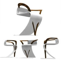Unique Chair Design! Design Out of Box!  Design Swan