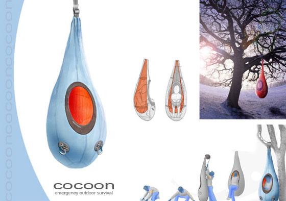 9 cool and unusual sleeping bags design swan