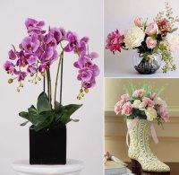 Beautiful Artificial Silk Flowers Arrangements for Home ...
