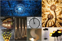 20 Fantastic Recycled and Upcycled Lamps And Chandeliers ...