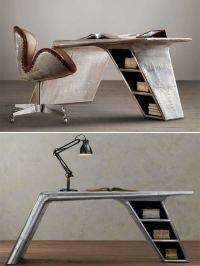 Unusual Furniture Made Out Of Reclaimed Air-plane Parts ...