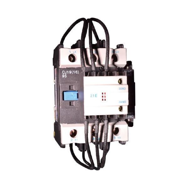 Power contactor / AC / low-voltage / capacitor - Hengyi Electrical