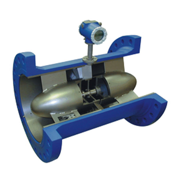 Turbine flow meter / for liquids / with counting function / in-line
