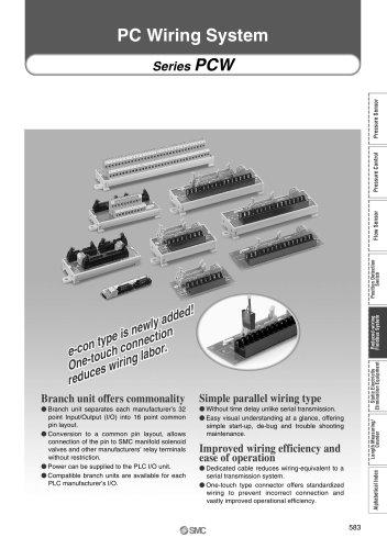 ex-pcw - SMC PNEUMATIC - PDF Catalogs Technical Documentation