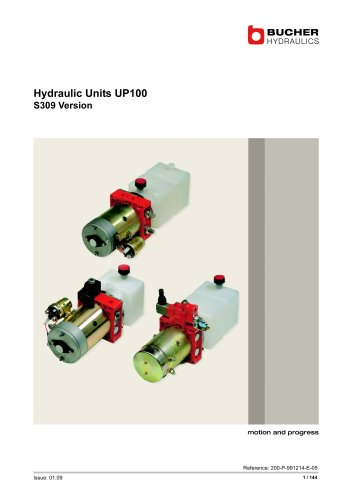 Hydraulic Units UP 100 - BUCHER Hydraulics - PDF Catalogs