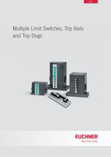 Multiple Limit Switches - EUCHNER GmbH + Co KG - PDF Catalogs