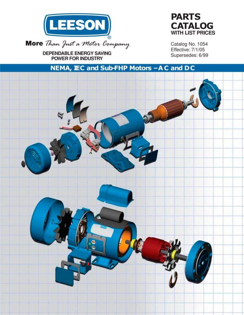 Doerr Motor Parts Craftsman 358 794742 Wiring Diagram Catalog Leeson Electric Pdf Catalogue Technical