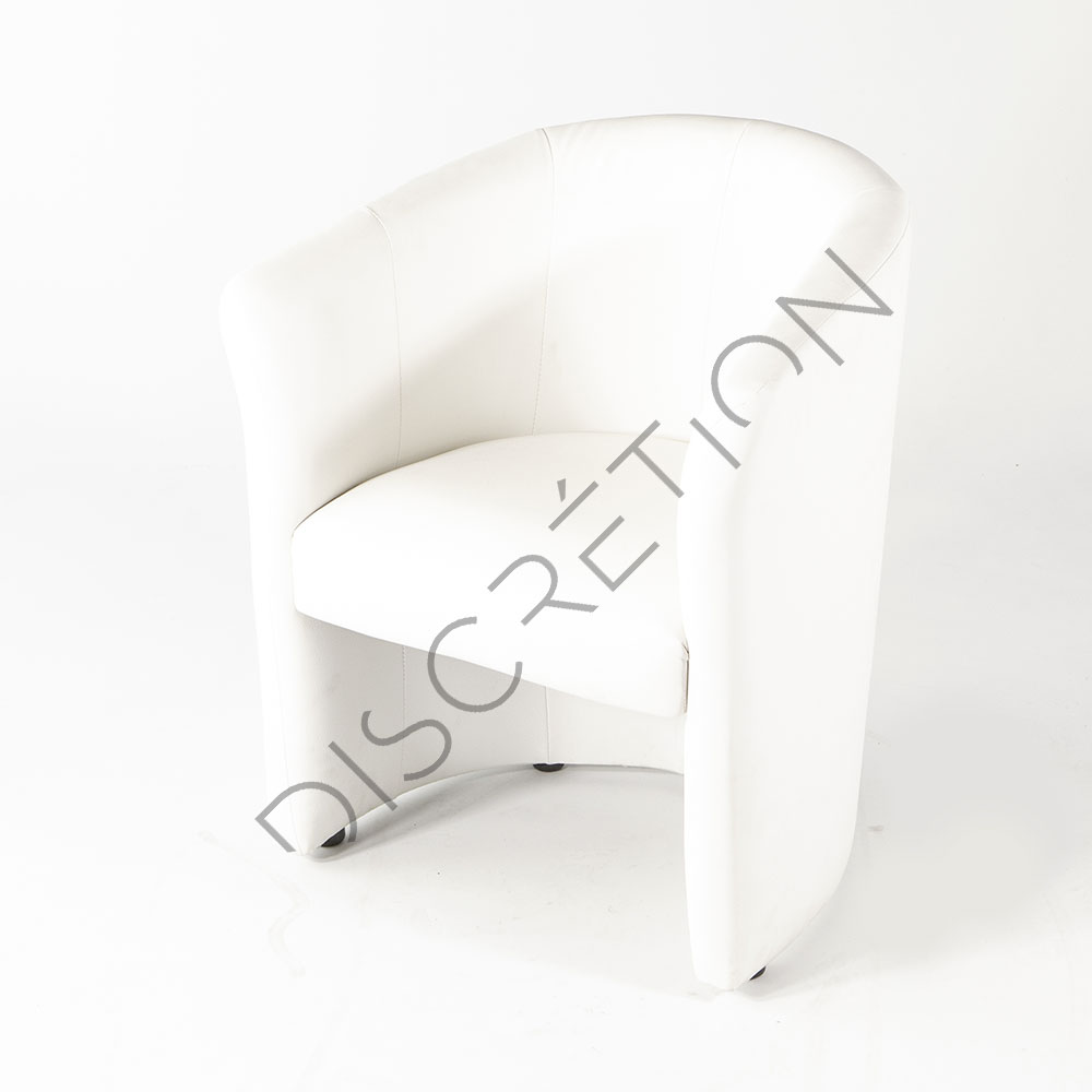 Fauteuil Club Blanc