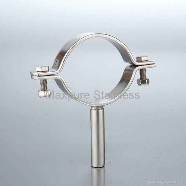 Stainless Steel Sanitary Pipe Holders Pipe Hangers