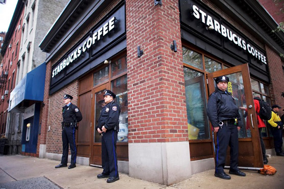 Starbucks staff to undergo racial-bias training following protests - starbucks store manager