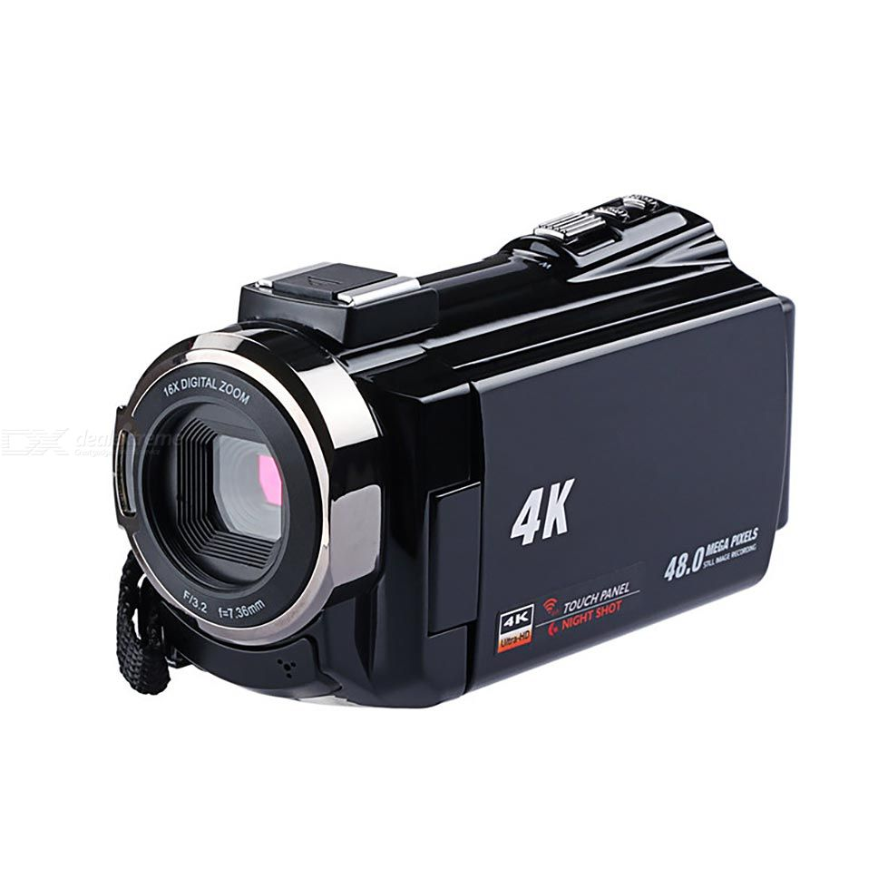 4k Ultra Hd Wifi Digital Video Camera 48mp 16x Zoom Camcorder Anti Shake Cameras Free Shipping Dealextreme