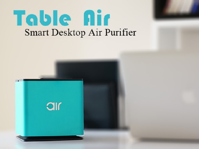 BroadLink Air Desktop PM25 Formaldehyde Remover Air Purifier - led schreibtisch tableair bilder app