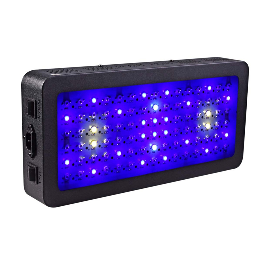 Sera Led Verlichting Aquarium Esamact Double Switch Led Grow Light Full Spectrum With Veg Bloom Modes For Indoor Greenhouse Grow Tent Plants