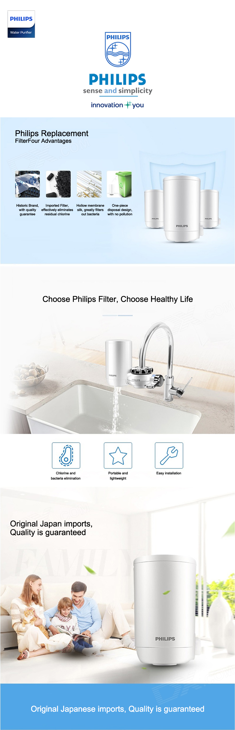Wasseraufbereiter Trinkwasser Küche Philips On Tap Water Purifier Wp3811 Micro Pure Filter Wp3911
