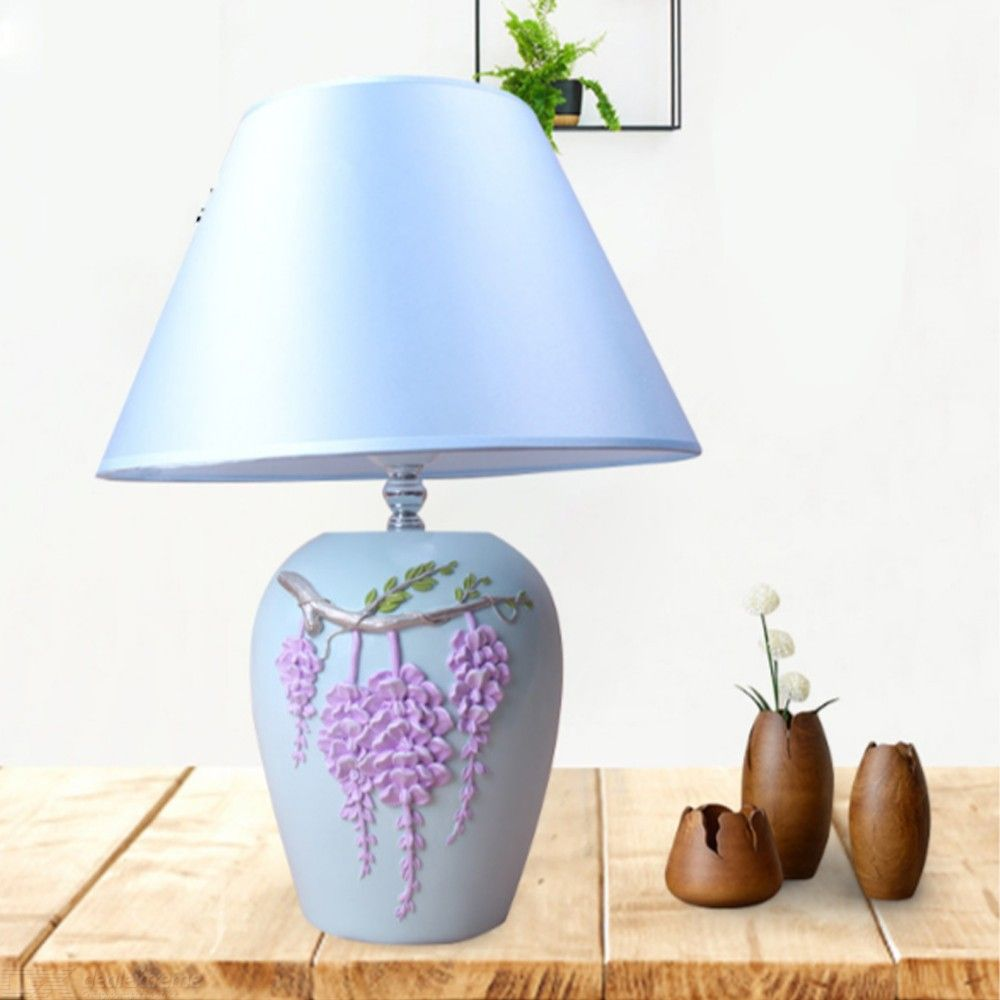 Lampe Kreativ Creative Resin Flower Table Lamp Modern Study Desktop Decoration Light