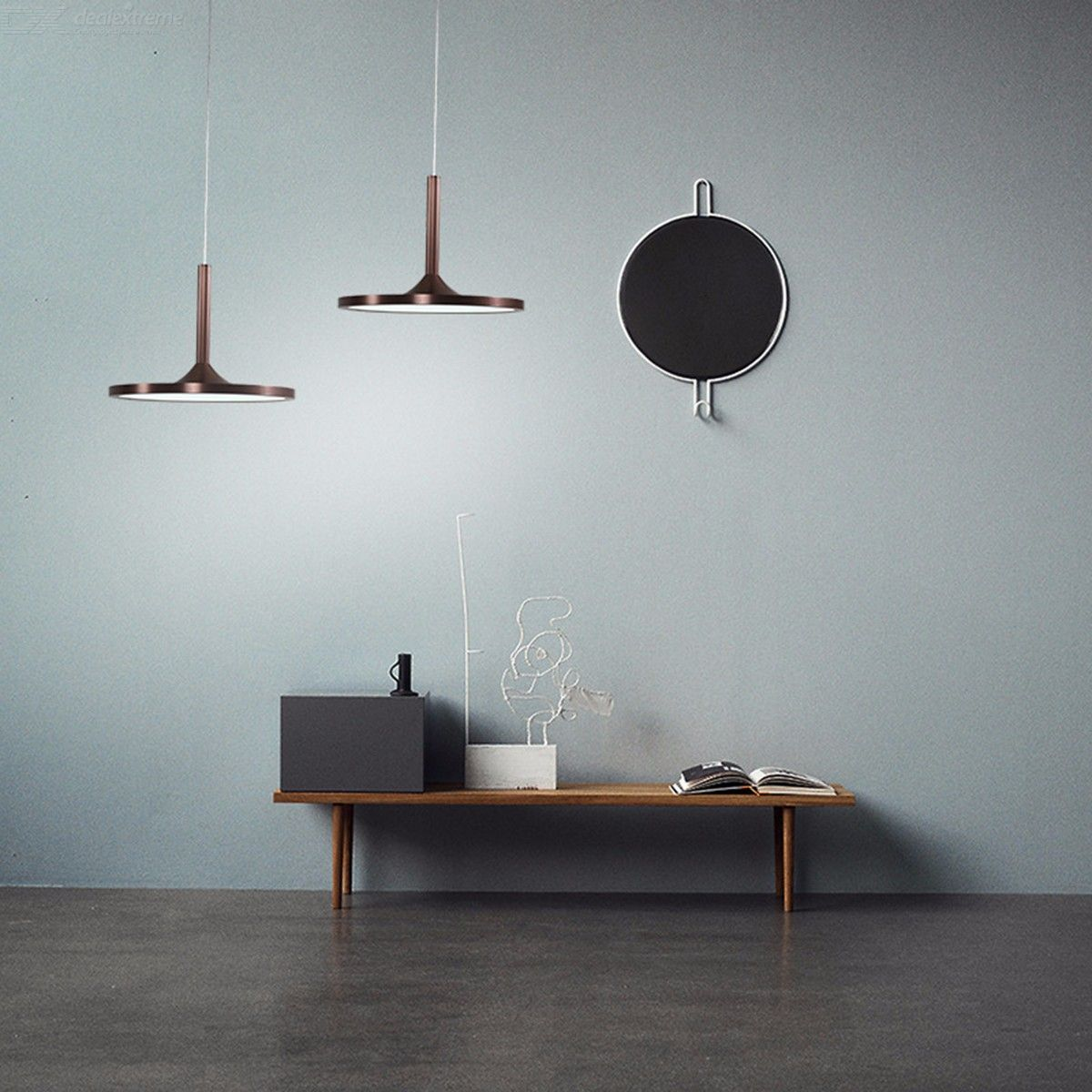 Lampe Kreativ Nordic Simple Cafe Pendant Light Living Room Restaurant Creative Bar Saucer Lamp