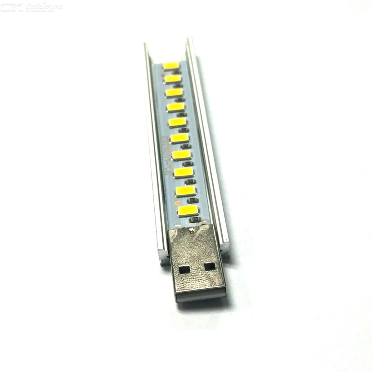 Multicolor Led Lamp Met Afstandsbediening 1 5w 50lm 10 Led Warm White Light Usb Lamp Silver Yellow