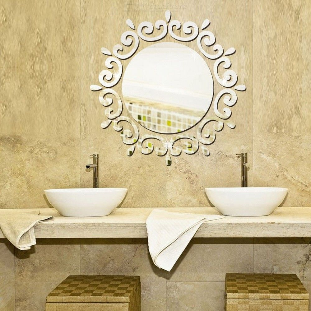 Y8 Decoration De Maison Creative 3d Wall Decals Diy Mural Mirror Stickers For Home Decoration