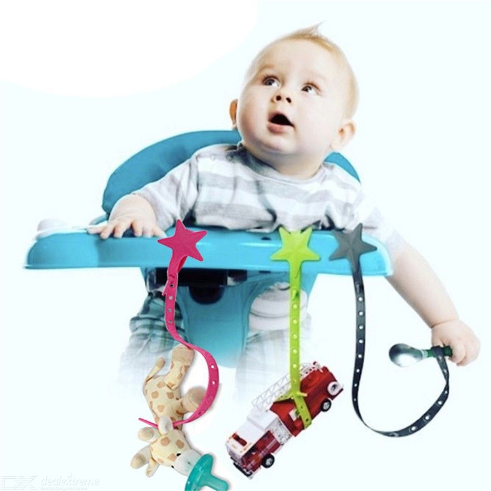 Baby Pacifier Clips Baby Teething Toys Holder 49 5cm Free Shipping Dealextreme