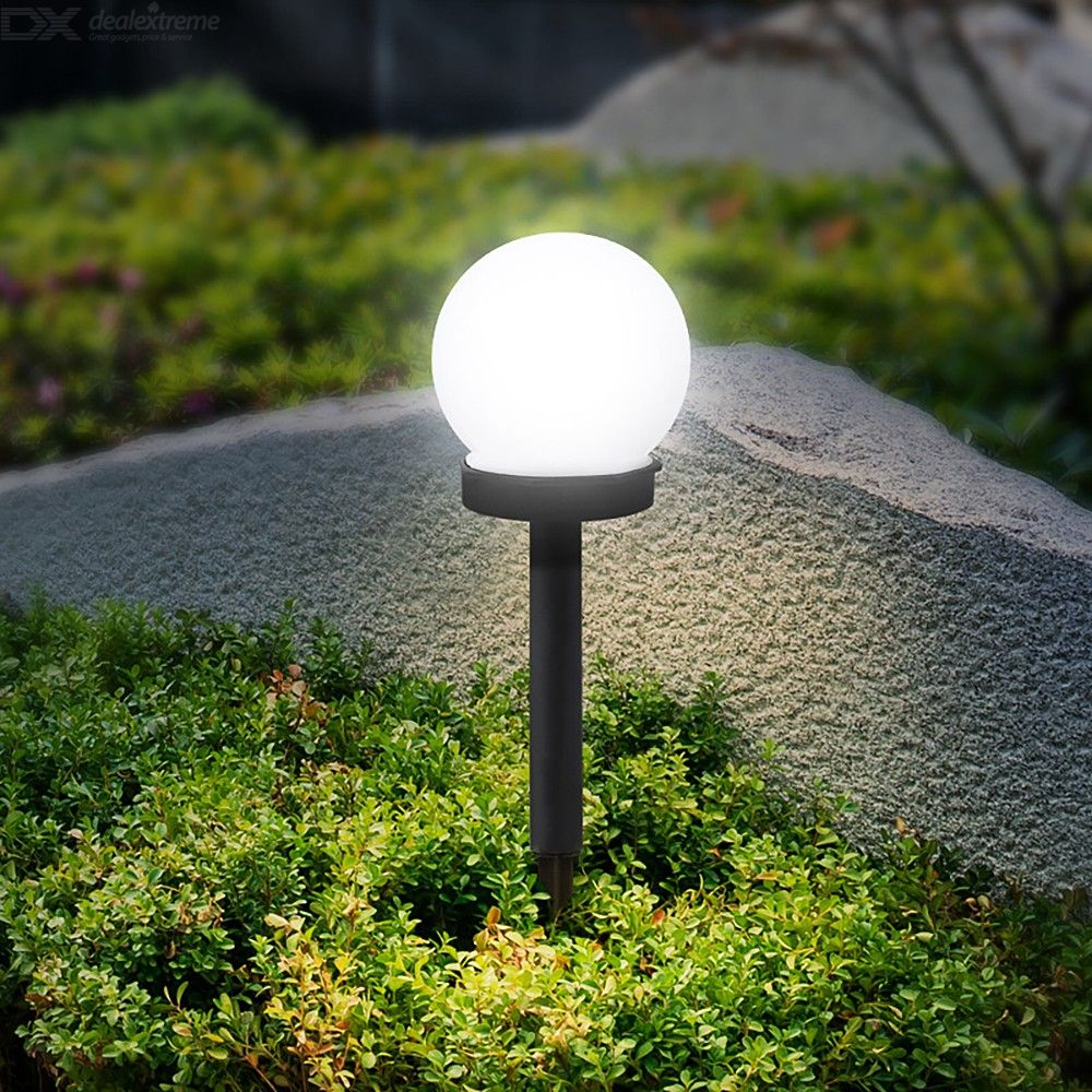 Solar Powered Lamp Waterproof Solar Outdoor Global Pathway Light Free Shipping Dealextreme