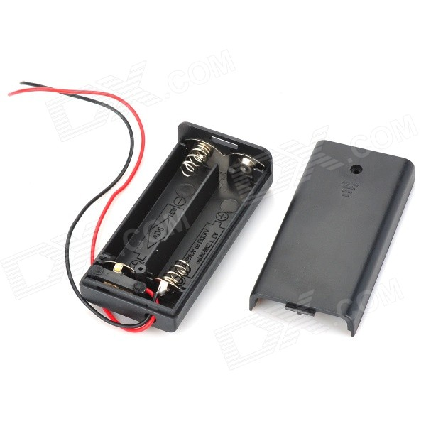 3V 2*AA Battery Holder Case Box with Leads