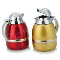 Stainless Steel Olive Oil Bottles Set with Holder (Pair ...