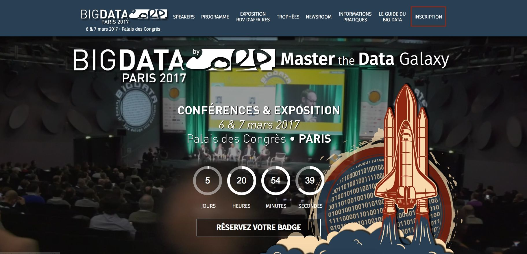 Big Data Salon Salon Big Data 2017 Cap Sur L Agilité Et L Ia