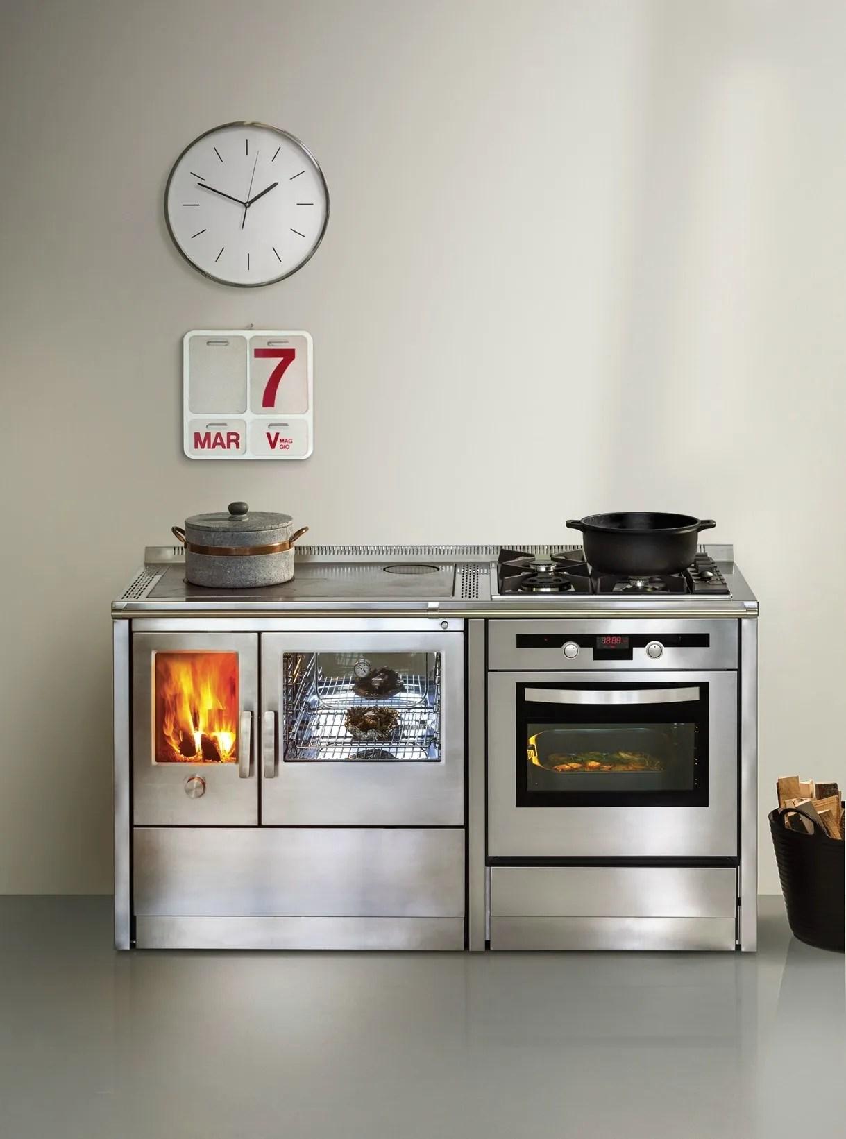 Cucina Combinata Induzione Gas | Forno Cucina Forno Cucina With ...