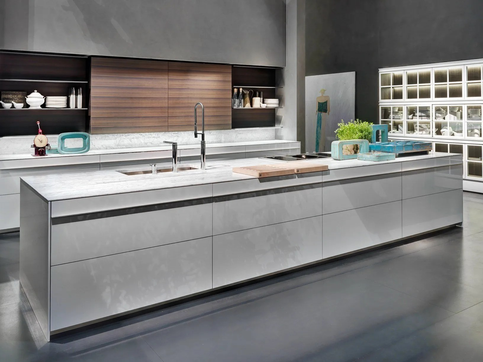 Cucina Dada Molteni Dada Presents New Kitchen Collections