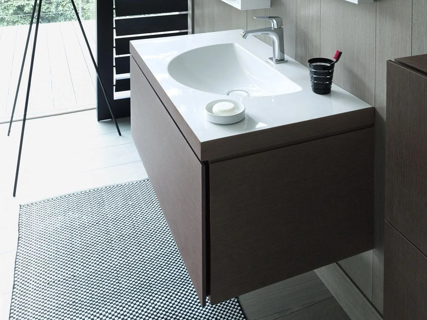 Duravit Waschtischunterschrank Washbasin And Bathroom Furniture Merge To Form A Single Unit