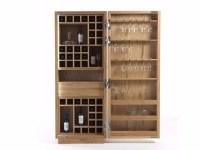 Wooden bar cabinet CAMBUSA WINE SMALL & WINE SMALL JUMBO ...