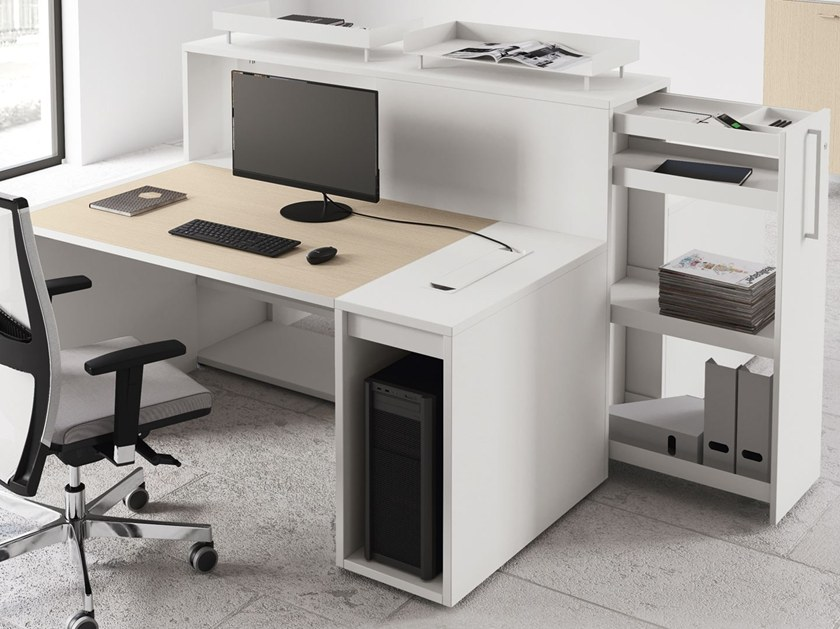 LOGIC Sectional office desk By Las Mobili