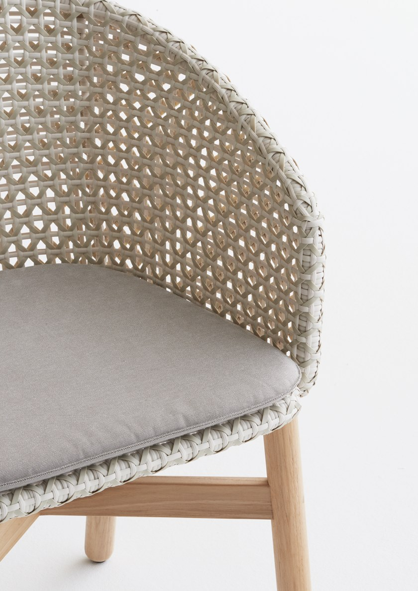 Dedon Mbrace Mbrace Chair Mbrace Collection By Dedon Design Sebastian Herkner