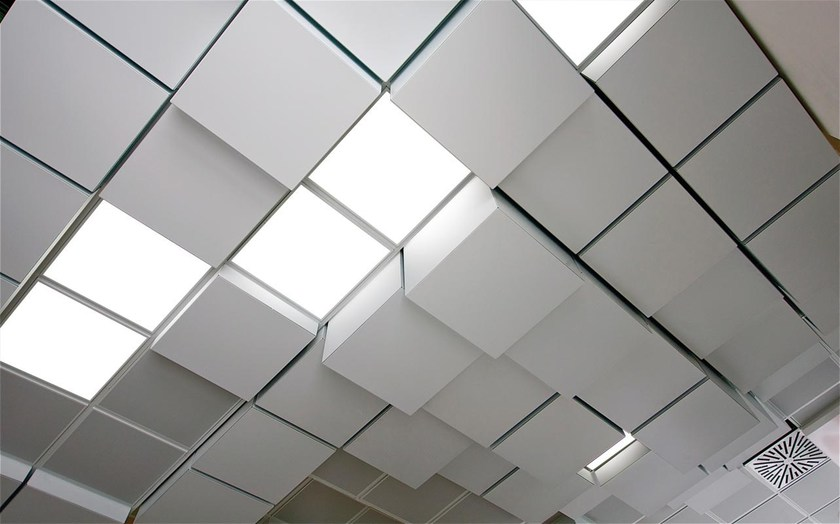 Ceiling panels MULTILEVEL 3D CUBE By atena