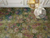 Carpet tiles with floral pattern ABERDEEN Freestile ...