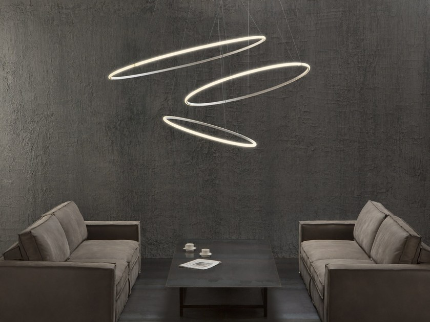 Wohnzimmerlampen Led Modern Led Pendant Lamp Olympic F45 3x By Fabbian Design Lorenzo