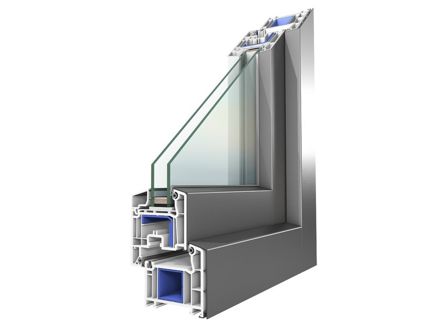 Aluminium And Pvc Double Glazed Window Koncept Alu By