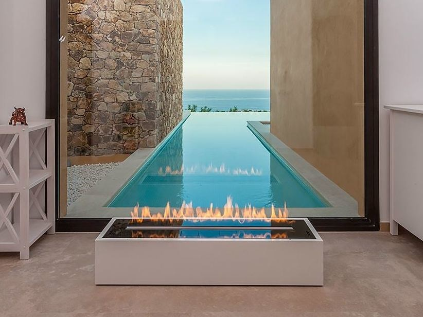 Built-in fireplace controlled by Wi-Fi and remote control FIRE - standard service contract