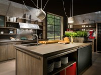INDUSTRIAL CHIC Kitchen with island by L'Ottocento