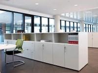 Modular office storage unit by ACTIU