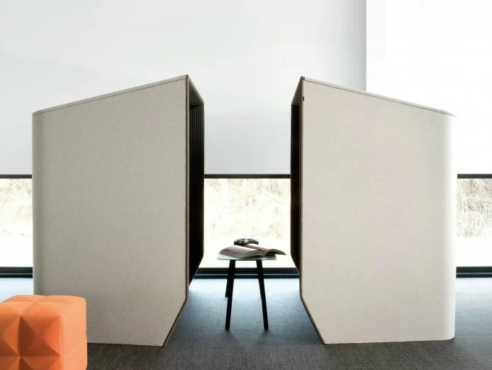 Acoustic meeting pod BUZZIHUB By BuzziSpace design Alain Gilles - standard service contract