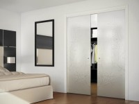 Concealed-in-wall sliding door SINTHESY LIGHT by FOA