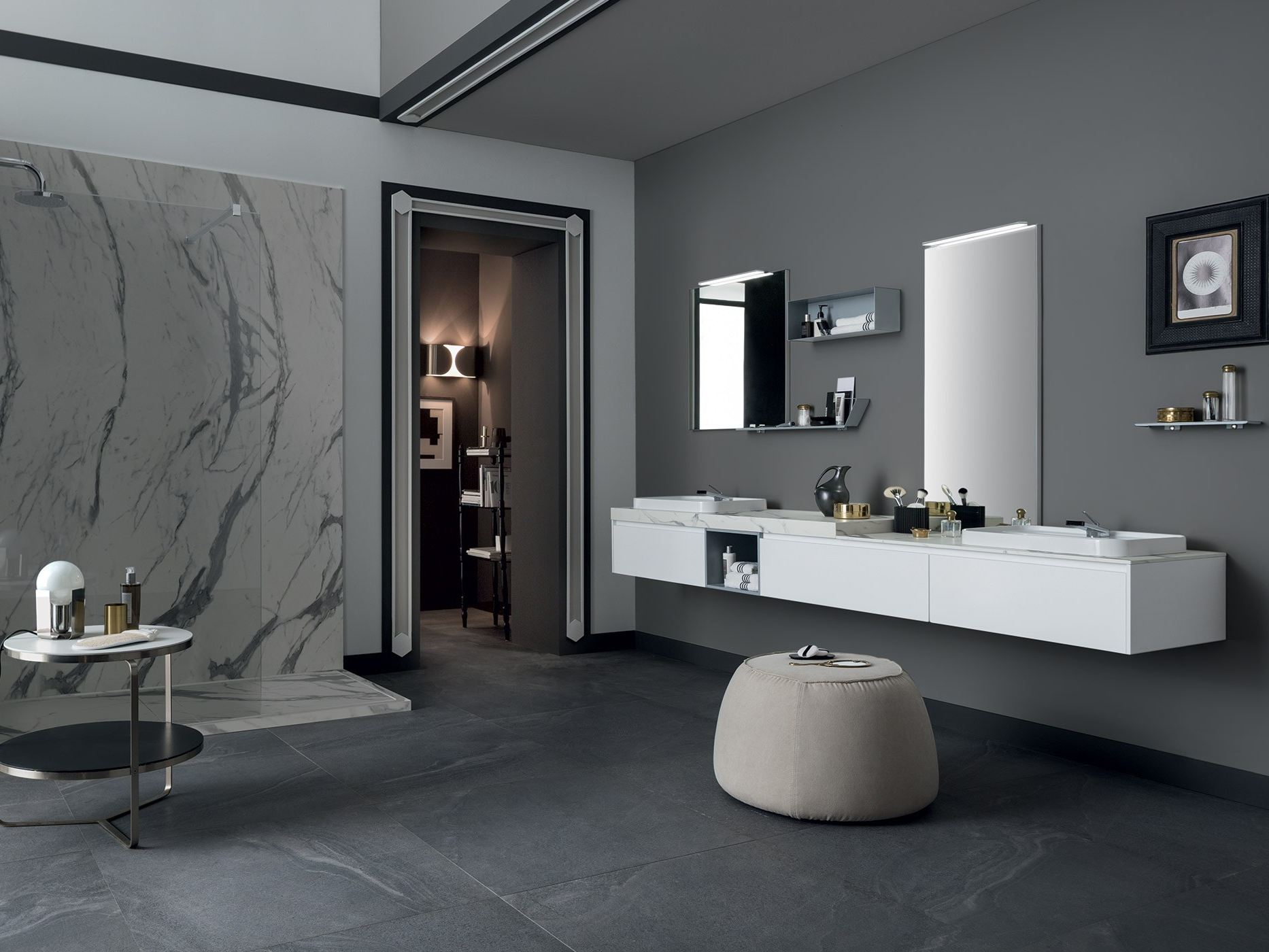 Portasalviette Bagno Mobile Bagno In Stile Moderno 80 3 Collection By Rab