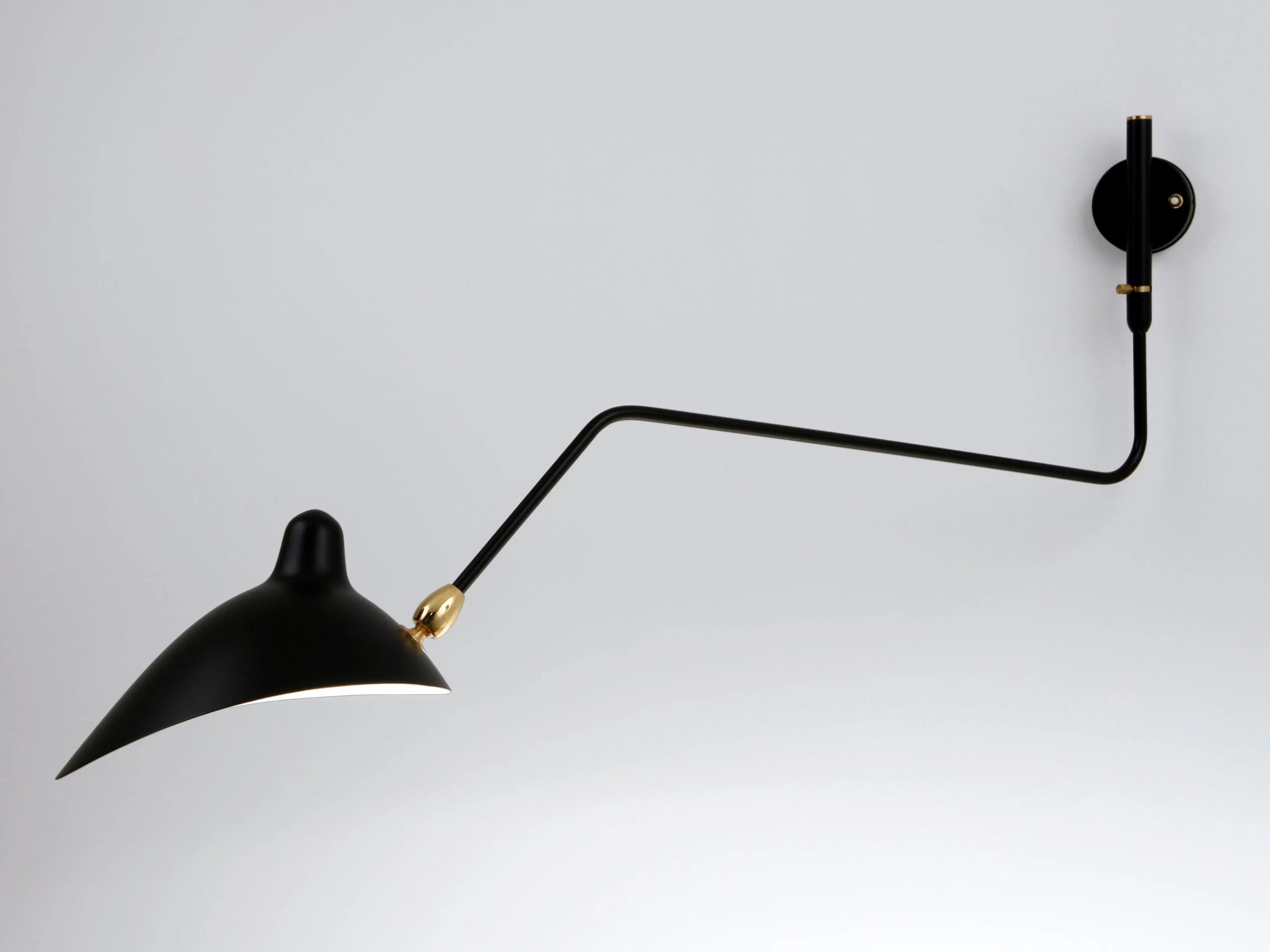 Lampada da muro con braccio flessibile lampada da parete art