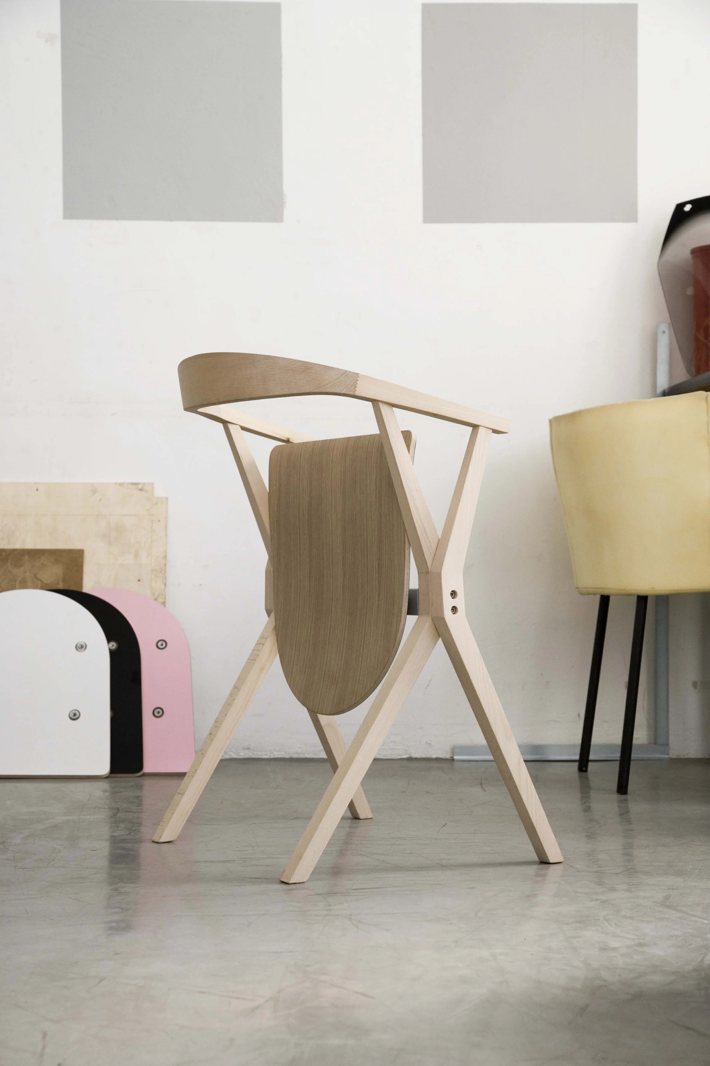 Wood Barcelona Chair Chair B Wooden Chair By Bd Barcelona Design Design