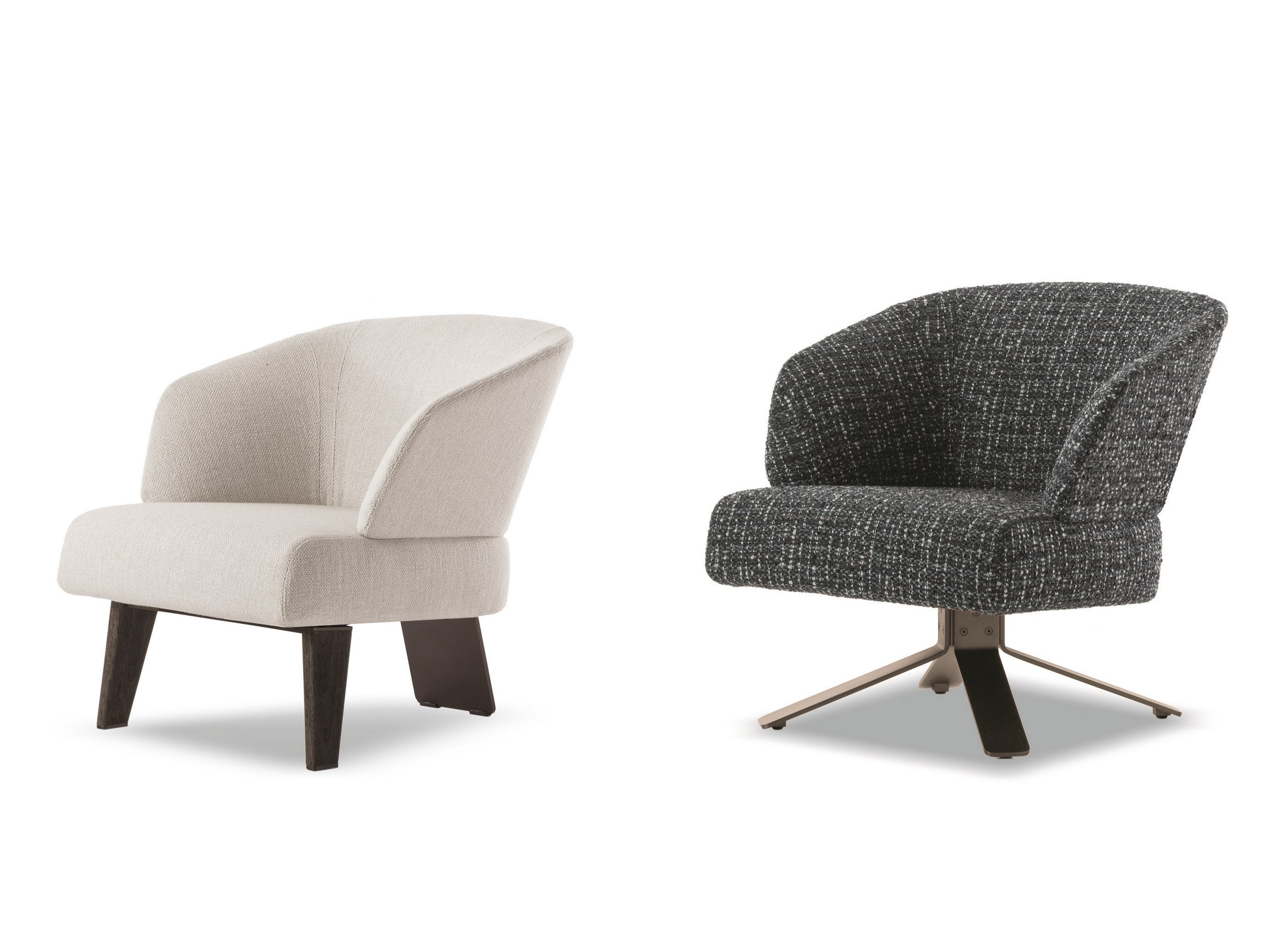 Small Armchair Easy Chair Creed Small By Minotti Design Rodolfo Dordoni
