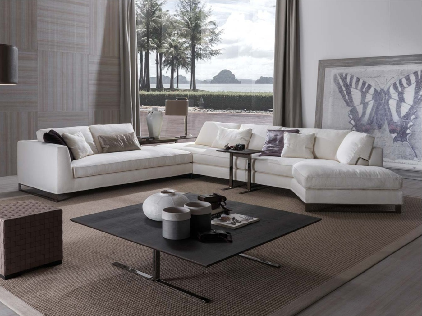 Divano Forlini Poltrone E Sofa Davis Free Sectional Sofa By Frigerio Poltrone E Divani